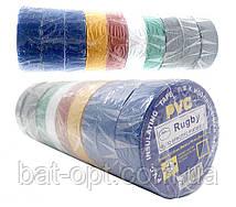 Изолента PVC 10м цветная 500шт/ящ