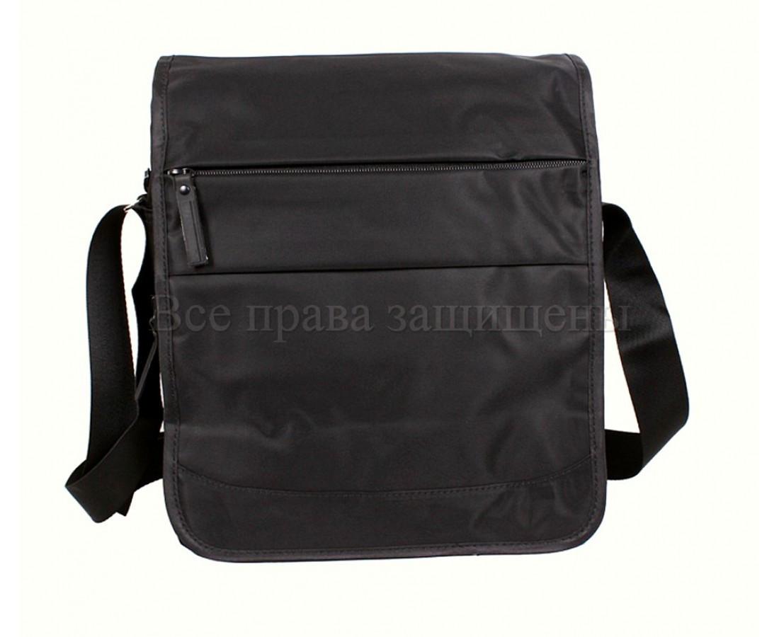 Мужская сумка через плечо ткань черный (Формат: А4 и больше) NAVI 8311A