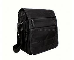 Мужская сумка через плечо ткань черный (Формат: А4 и больше) NAVI 8311A, фото 2
