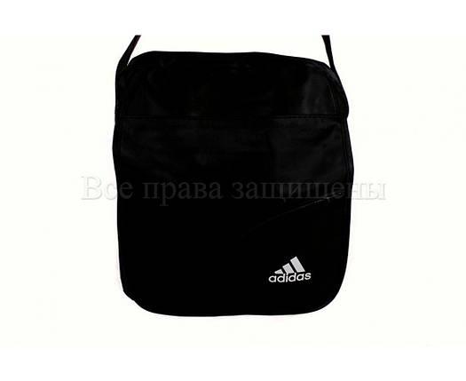 Мужская сумка через плечо ткань черный (Формат: больше А5) NAVI кт1903, фото 2