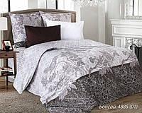 Полуторный постельный комплект (пододеяльник, 2 наволочки, простынь) ТМ Руно 1.114Б_4885 Бонсай