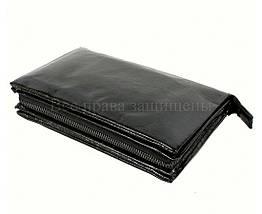 Кожаный клатч мужской черный NAVI 006-1 black, фото 2