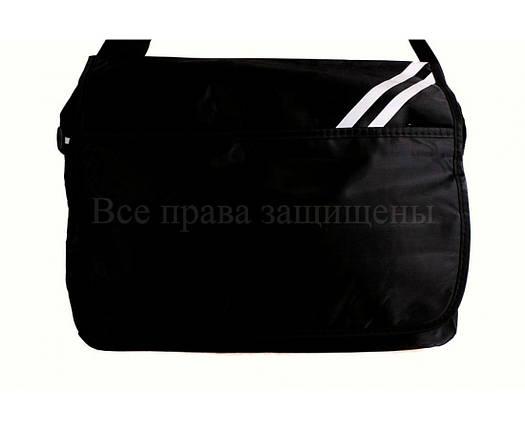 Мужская сумка ткань черный (Формат: А4 и больше) NAVI кт3266, фото 2