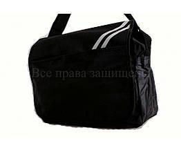 Мужская сумка ткань черный (Формат: А4 и больше) NAVI кт3266, фото 3