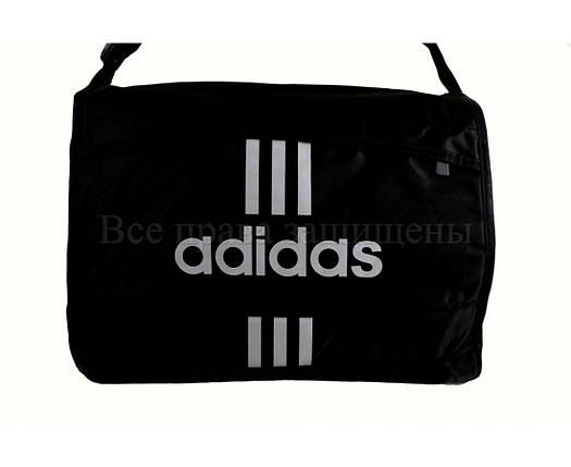 Мужская сумка ткань черный (Формат: А4 и больше) NAVI кт3253, фото 2