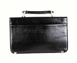 Мужская сумка искусственная кожа черный NAVI кт2493, фото 2