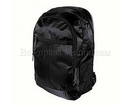 Рюкзак унисекс ткань черный (Формат: А4 и больше) NAVI 919