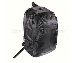 Рюкзак унисекс ткань черный (Формат: А4 и больше) NAVI 919, фото 2