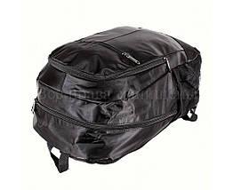 Рюкзак унисекс ткань черный (Формат: А4 и больше) NAVI 919, фото 3
