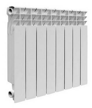 Алюминиевые радиаторы Mirado  96/500 AL 1 секция, фото 2