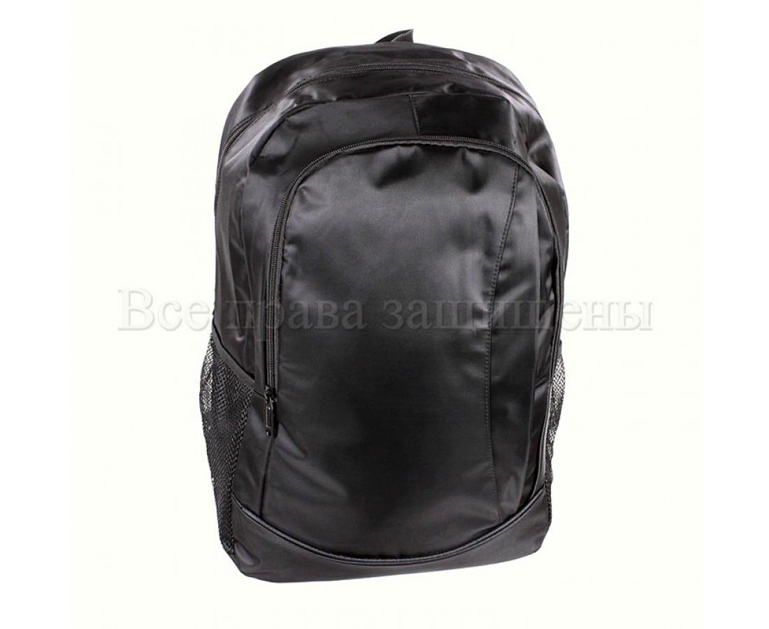 Мужской рюкзак ткань черный (Формат: А4 и больше) NAVI 8001