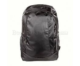 Мужской рюкзак ткань черный (Формат: А4 и больше) NAVI 8001, фото 2