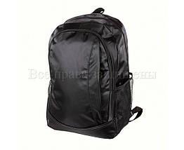 Мужской рюкзак ткань черный (Формат: А4 и больше) NAVI 8001, фото 3