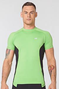 Компрессионная спортивная футболка Rough Radical Fury Duo SS (original), мужской рашгард с коротким рукавом