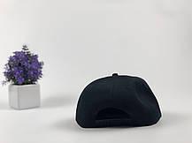 Кепка снэпбек King черная, белый лого, фото 3