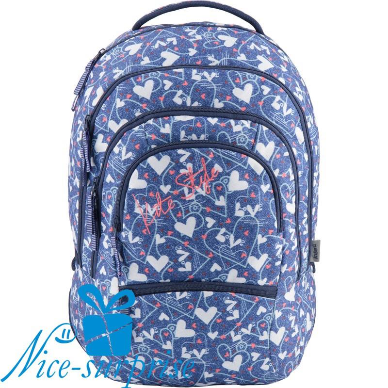 38356eca50aa Школьный рюкзак для девочки-подростка Kite Style K18-881L-3