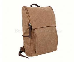 Рюкзак унисекс ткань коричневый (Формат: А4 и больше) NAVI 8154-2-COFFEE, фото 2