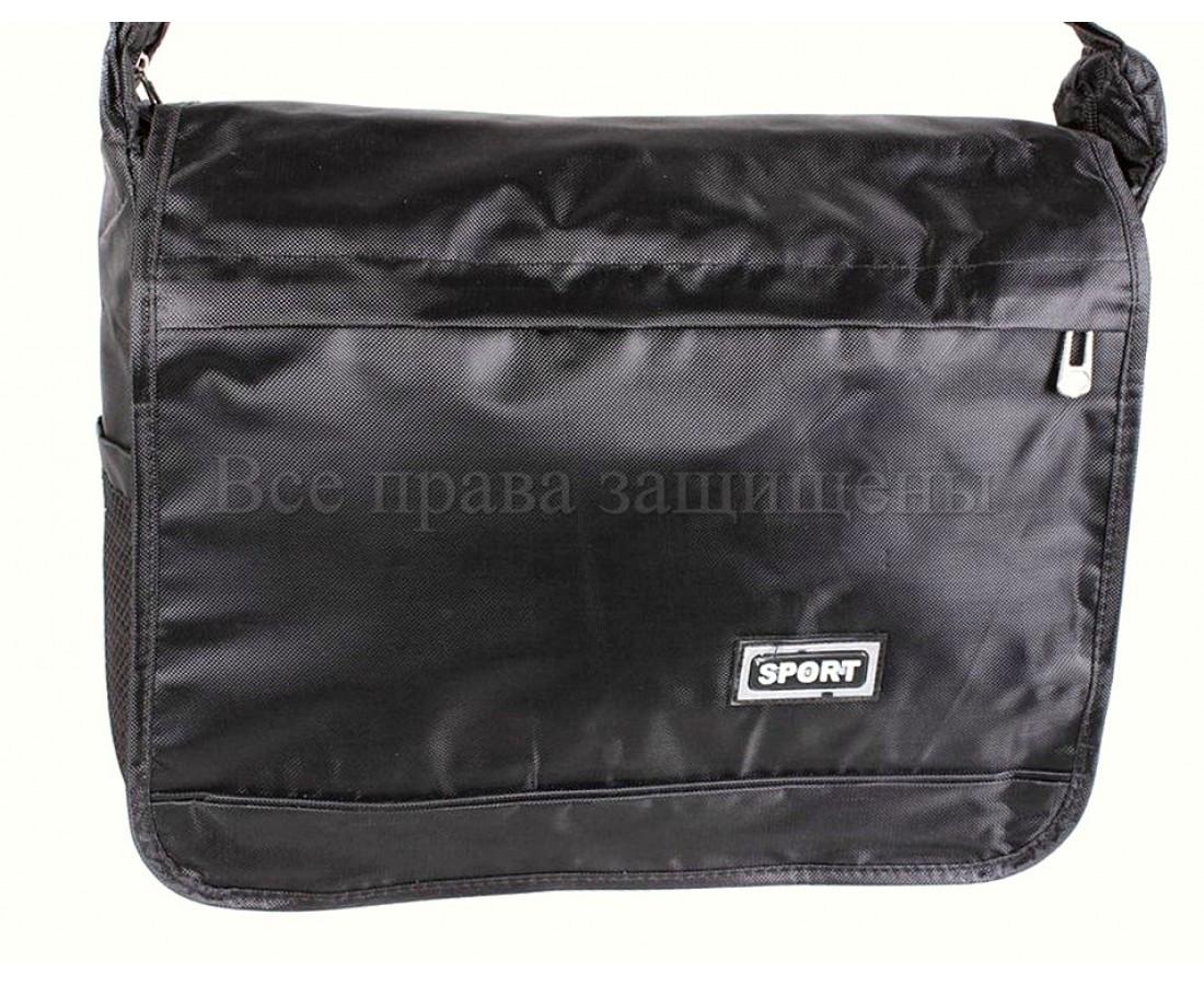Мужская сумка ткань черный (Формат: А4 и больше) NAVI кт3246