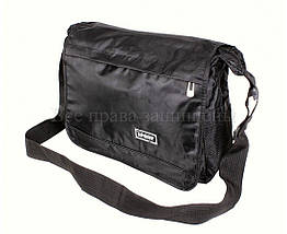 Мужская сумка ткань черный (Формат: А4 и больше) NAVI кт3246, фото 3
