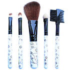 Набір Косметичних Пензлів 5 шт, №726 Аксесуари для макіяжу, фото 6