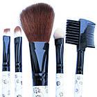 Набір Косметичних Пензлів 5 шт, №726 Аксесуари для макіяжу, фото 3