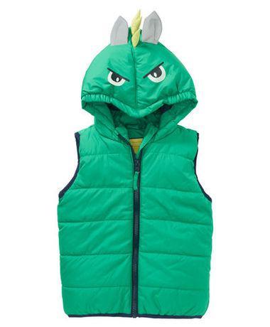 Детская зеленая жилетка для мальчика Kiki&Koko Германия Размер 110, 116, 122