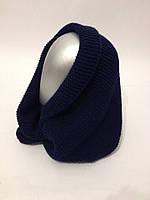 Шарф-снуд (шарф-хомут) расцветки, фото 1
