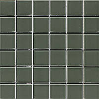Стеклянная мозаика Vivacer темно-серая PM-03