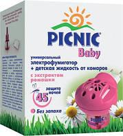 Фумигатор+жидкость PICNIC Baby 45 ночей 3118