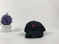 Кепка бейсболка Hundreds Rose (черная)