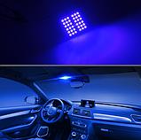 Светодиодная подсветка салона автомобиля с пультом ДУ RGB 36smd 2x5050 T10, фото 4