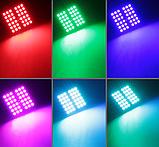 Светодиодная подсветка салона автомобиля с пультом ДУ RGB 36smd 2x5050 T10, фото 7