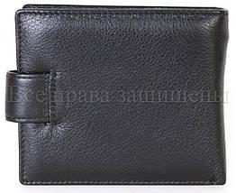 Мужской кожаный кошелек черный WATER LILY WL-0704, фото 2