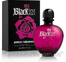 Женская туалетная вода black xs for her paco rabanne (блек хс) - страстный, нежный аромат! (копия)