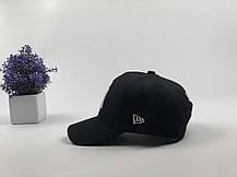 Кепка бейсболка New York Yankees 2018 черная, белый лого, фото 2