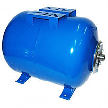 Гидроаккумуляторы для систем водоснабжения Aquasystem VAO 100, 100 л. горизонтальный