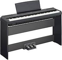 Цифровое пианино YAMAHA P-115 (B) (+стойка +педальный блок +блок питания)
