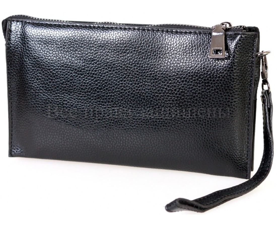 Кошелек унисекс экокожа черный NAVI-BAGS NV-С168FL-black
