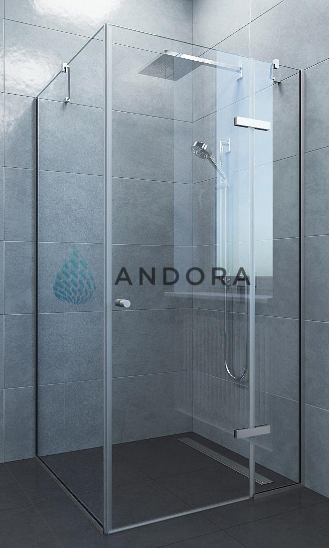 Душевая кабина Andora Aspen 100x80x200 стекло clear L / R