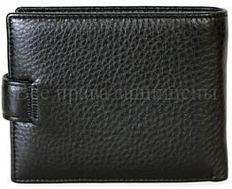 Мужской кожаный кошелек черный H. Verde 536HV, фото 3
