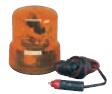 Поблесковый маячок оранжевый (мигалка) на магните 24 v