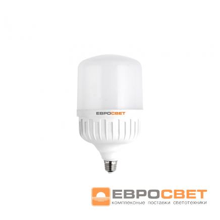 Высокомощная LED лампа Евросвет EVRO-PL-30-6400-27 30W 6400K E27 220V - Электротех - монтаж в Киеве
