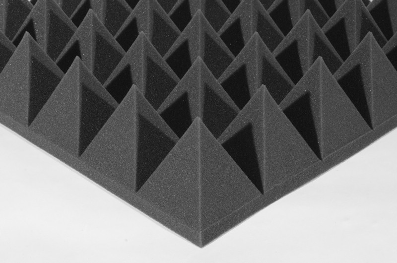 Акустическая панель Ecosound Пирамида XL 120мм 1,20х0,6м из акустического поролона