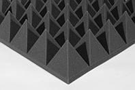 Акустическая панель Ecosound Пирамида XL 120мм 1,20х0,6м из акустического поролона, фото 1