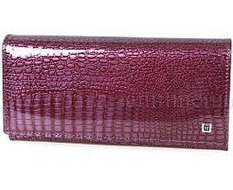 Женский кожаный кошелек фиолетовый Horton H-AE150-dark-purrple, фото 2
