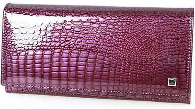 Женский кожаный кошелек фиолетовый Horton H-AE150-dark-purrple, фото 3