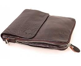 Мужская кожаная сумка через плечо коричневый (Формат: меньше А5) NAVI-BAGS NV-081388-cofee, фото 3