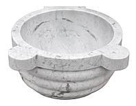 Мраморная Курна для Турецкой бани (Хаммама) TSL-1 Белый Мрамор