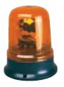 Проблесковый маячок (мигалка) оранжевый стационарный 12 V