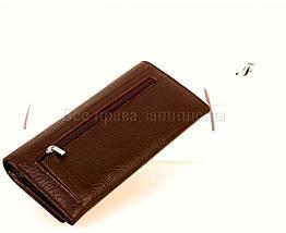 Женский кожаный кошелек кофейный Salfeite A-W79COFEE, фото 3